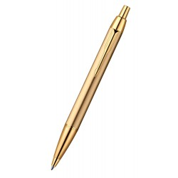Ручка Parker IM Metal К223 Brushed Metal GOLD GT  (R0736980)