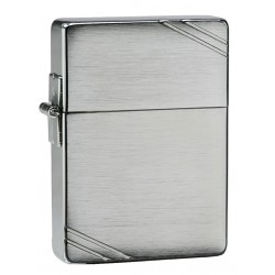 "Зажигалка  ""ZIPPO""  1935 Replica, латунь, Brushed Chrome"