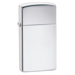 "Зажигалка ""ZIPPO"" Slim High  Polish Chrome № 1610"